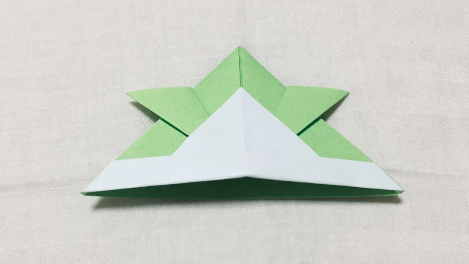 かぶと(兜)の折り紙
