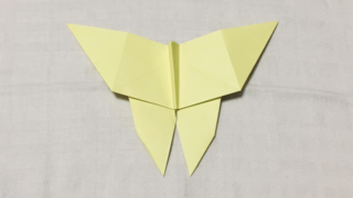 ちょうちょの折り紙