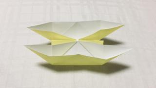 にそう舟の折り紙