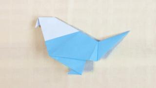 小鳥の折り紙