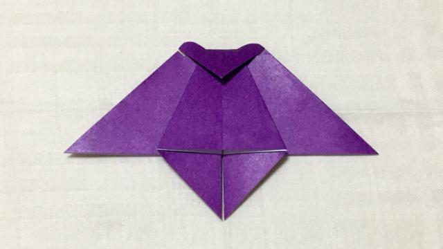 コウモリの折り紙