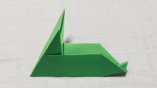 ウサギ(兎)の折り紙