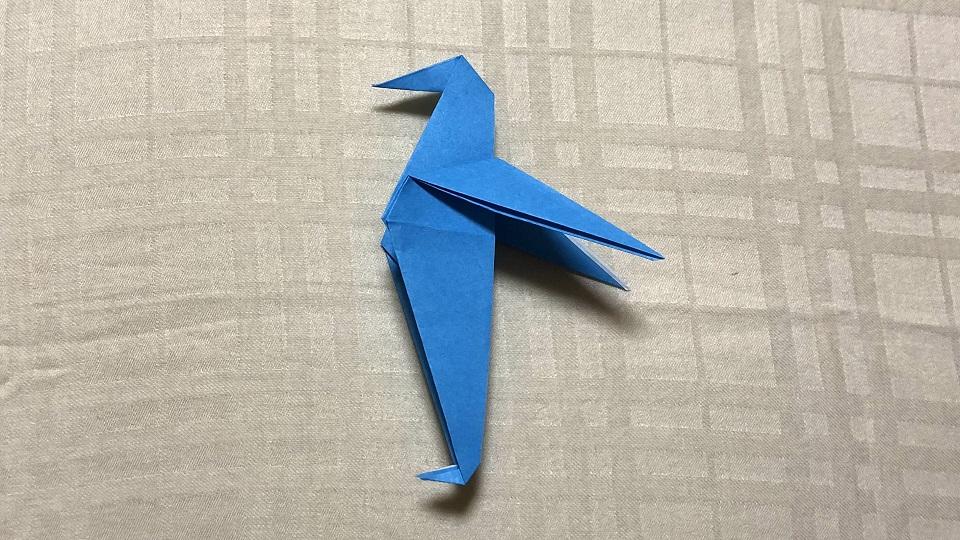 ペンギンの折り紙
